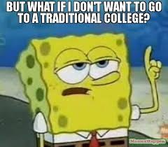 traditional college