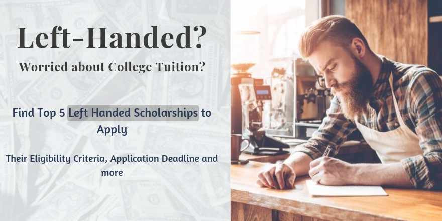 Scholarships for Left Handed Students