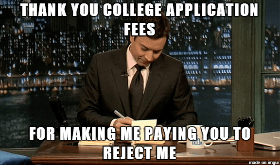Cost of College Applications