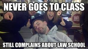 What not to do at Law School