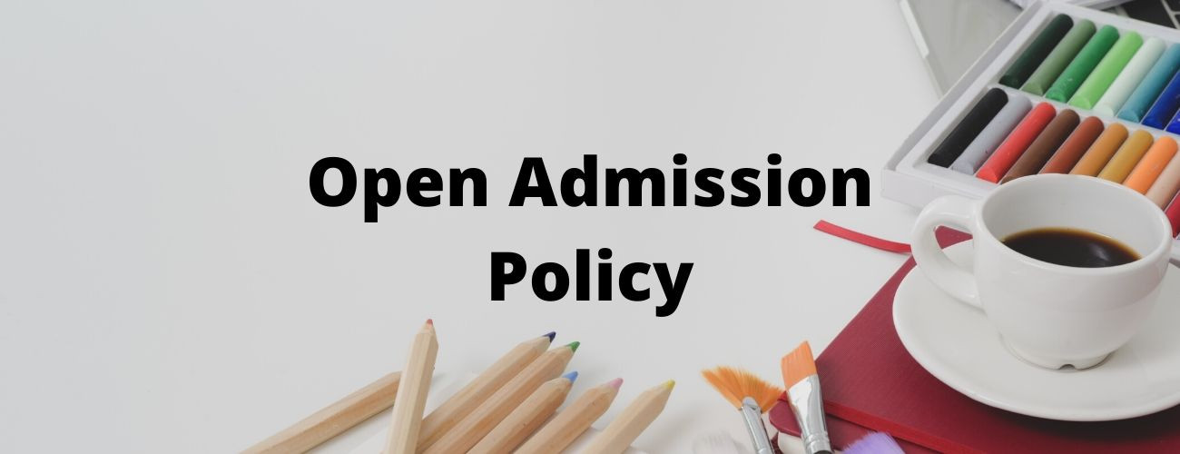 Open Admission Policy