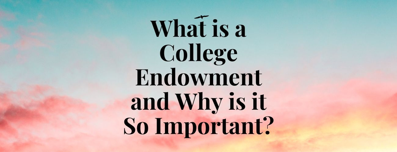 What is a College Endowment and Why is it So Important?
