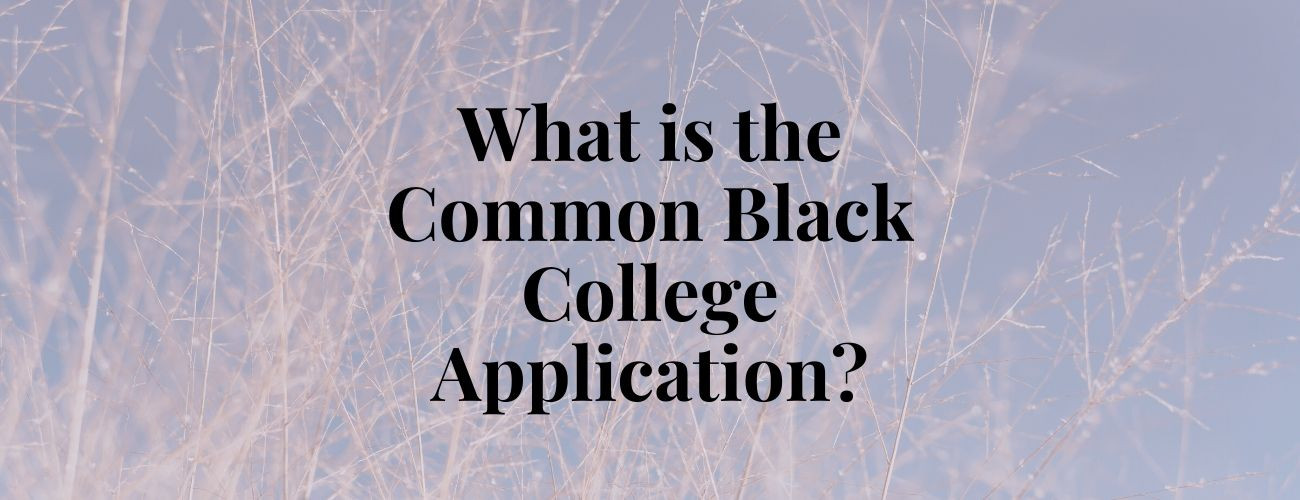 What is the Common Black College Application?