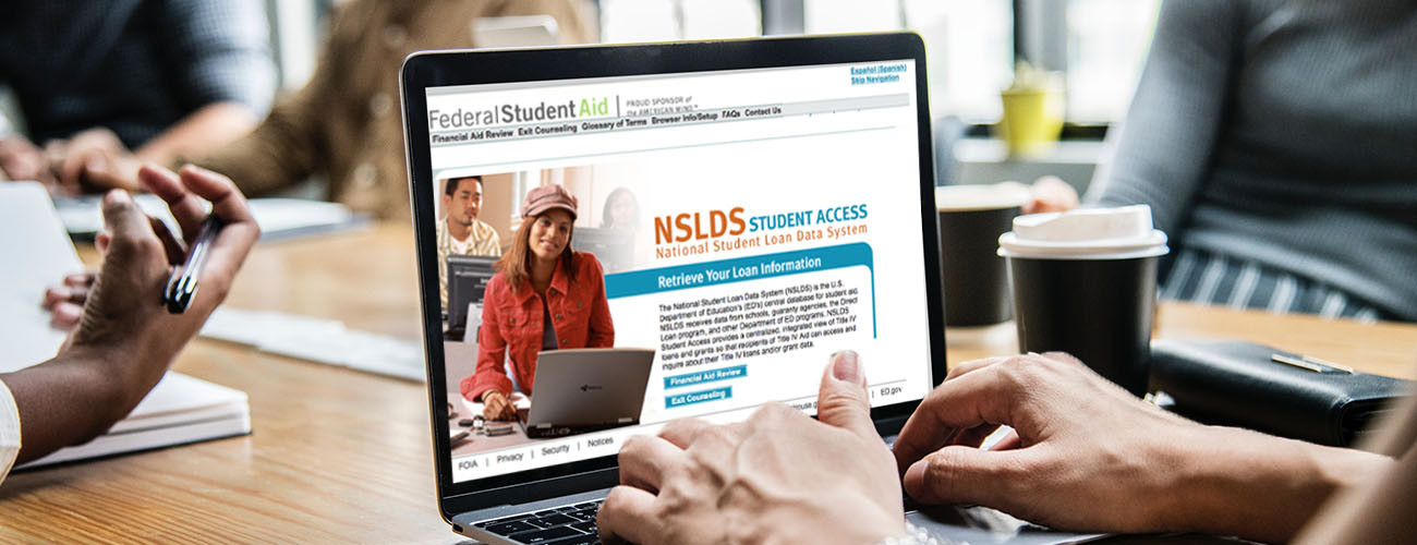 What is national student loan data system (NSLDS ) and how to use it?