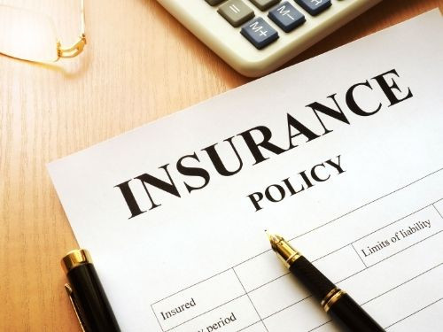 Step 5 File an insurance policy
