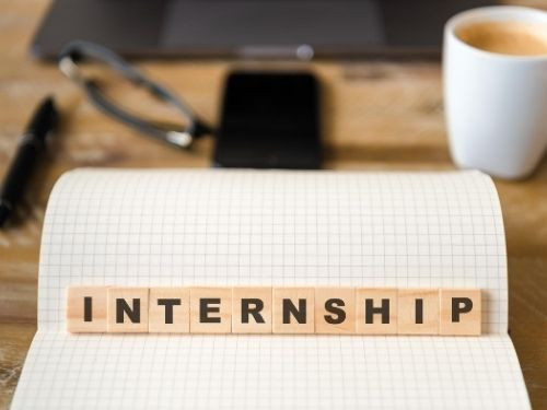 Step 3 Work as an Intern