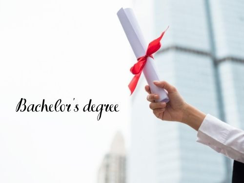 Step 2 Get a Bachelor's Degree
