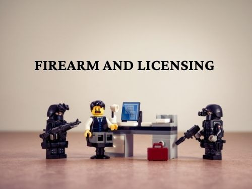 Step 3 Complete firearm and license training