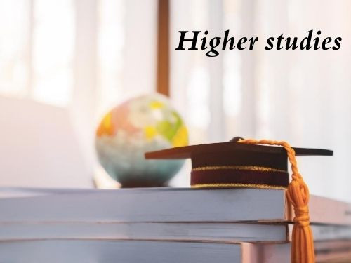 Step 6 Aim for higher Studies