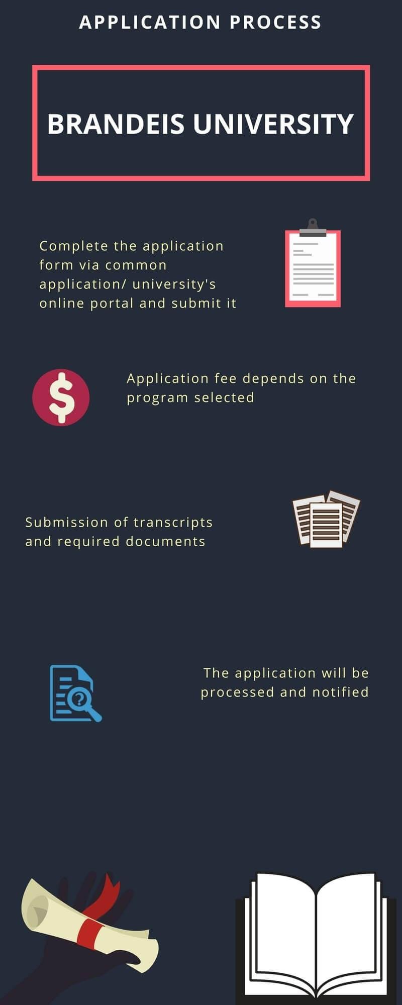Brandeis University Admission Process